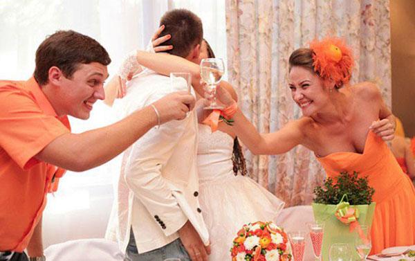 Почему на свадьбе кричат «горько»