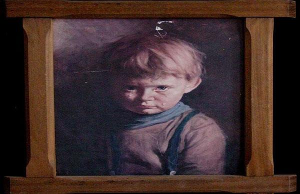 """Картина """"Плачущий мальчик"""". Непознанное, необъяснимое"""
