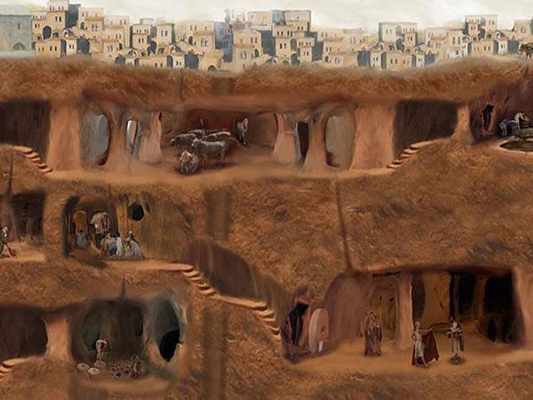 Тайны подземных городов мира