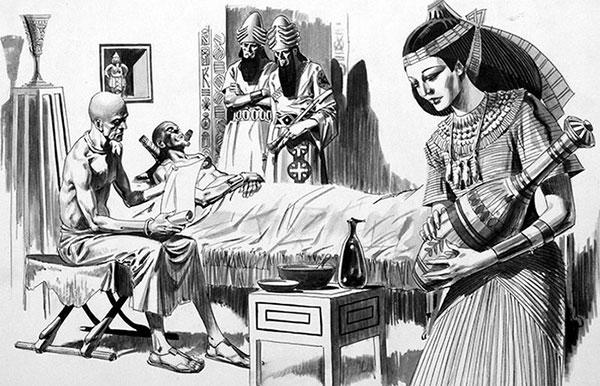 10 поразительных фактов о гигиене в Древнем Египте