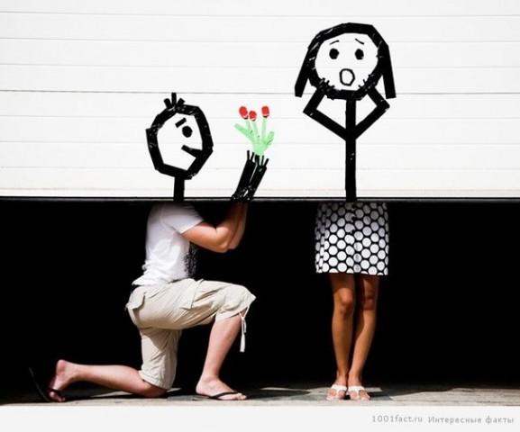 Необычные признания в любви