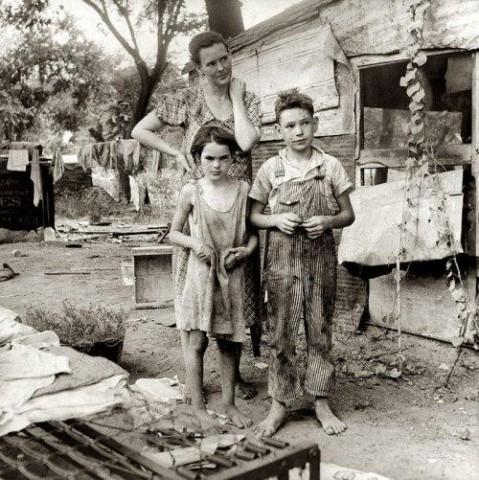 Великая депрессия в США. Как это было. Маленькие паззлы Большой мозаики
