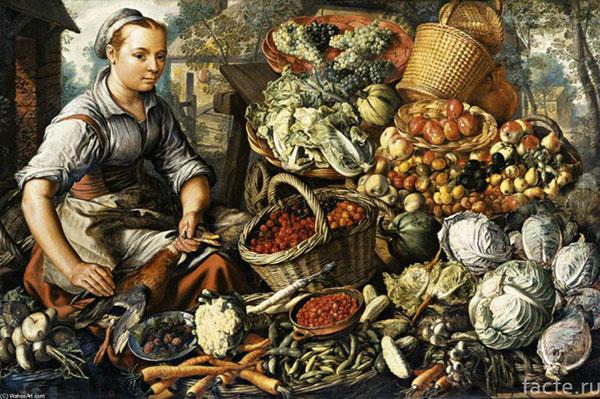 Что ели в средневековой Европе?