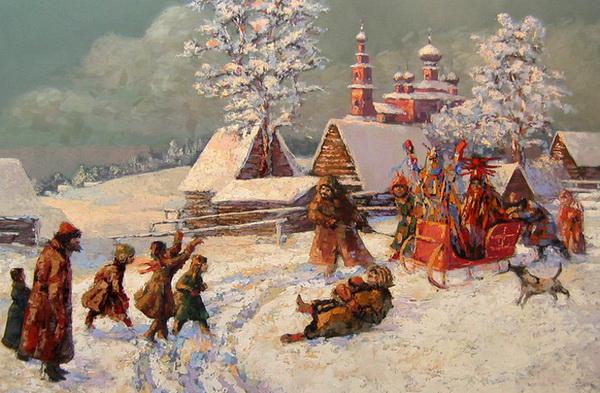 Веселое время - зимние Святки!