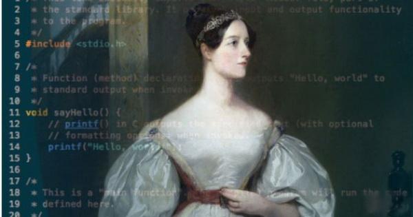 Первой женщиной-программистом была дочь лорда Байрона