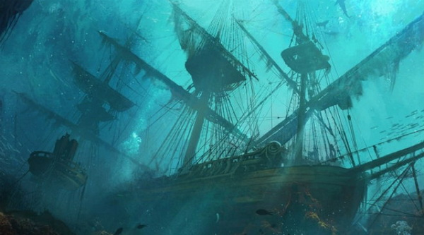 «Черный принц» – корабль-призрак