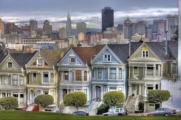 Город, построенный на кораблях. Сан-Франциско