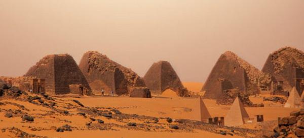 В Судане больше пирамид, чем в Египте