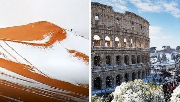 Глобальное потепление приносит холод